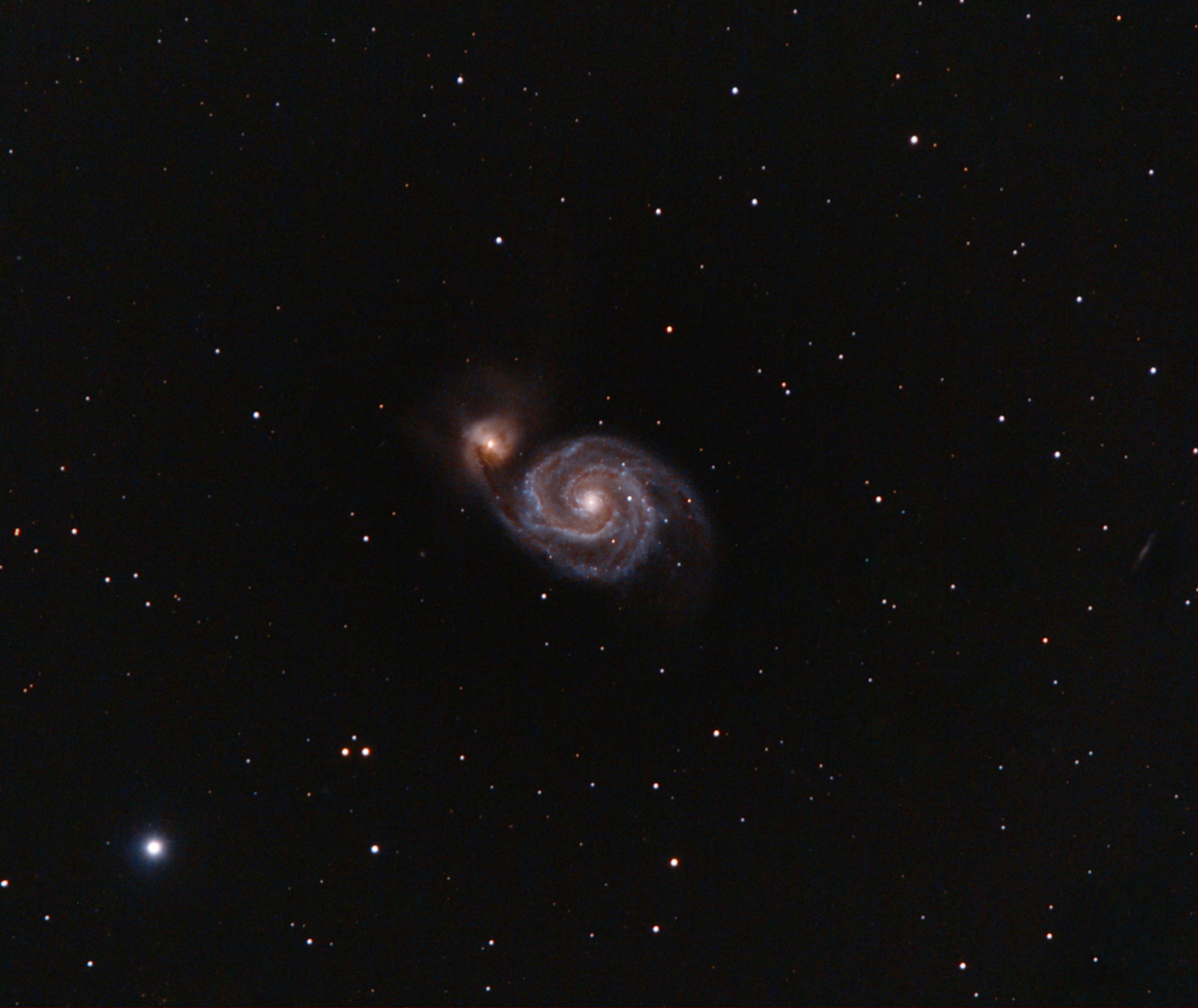 M51-Whirpool Galaxy